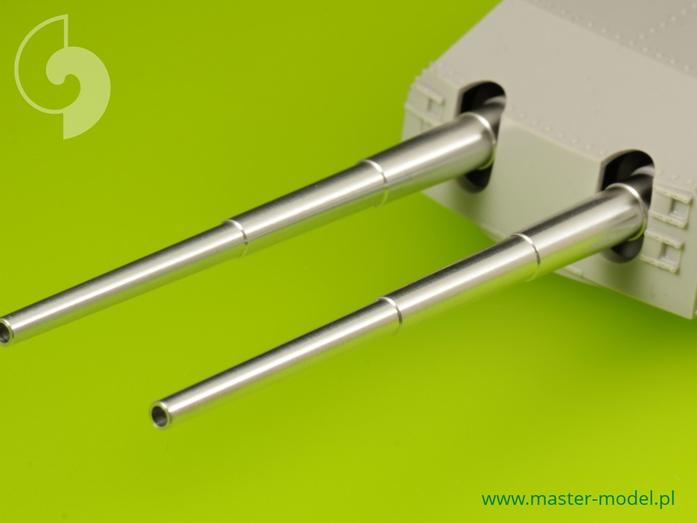 3.9in 8pcs Master SM-200-004 1//200 Metal IJN 10cm//65 Type 98 barrels