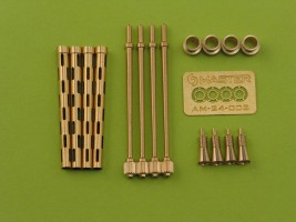 Master Model 1//24 British 3in Rocket RP-3 with 60LB SAP heads 8pcs AM24011